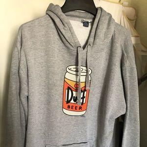 Simpson's Duff beer hoodie